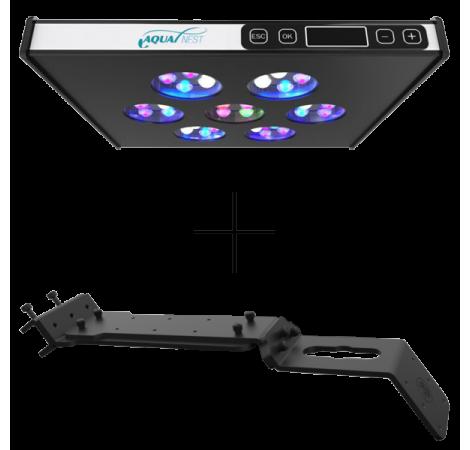 ASAQUA Rampe LED MAX 30 + Support Banaquarium