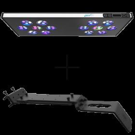ASAQUA Rampe LED MAX 60 + Support Banaquarium