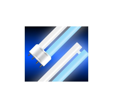 BLAU Fluo Compact 55 Watts Blanc/Bleu - Culot 2G11