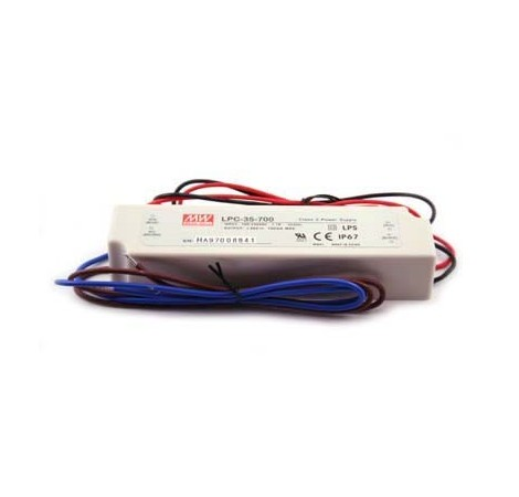 Driver LED Mean Well LPC-60-1750