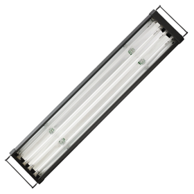 AQUALIGHT Rampe T5 Eau Douce 4x80 Watts - 180cm