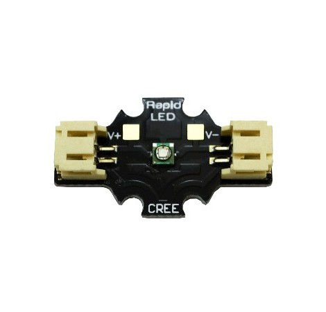 Solderless CREE XP-E Red 3W LED