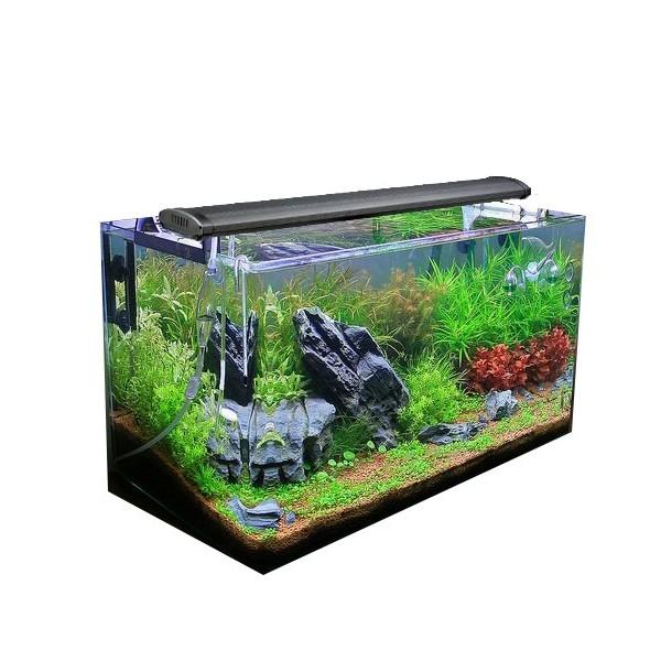Rampe t5 aquarium 2x24w aqualight for Achat aquarium eau douce