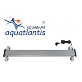 Galerie eclairage 2x24 watts pour Aquarium Aquatlantis table 100x63 cm