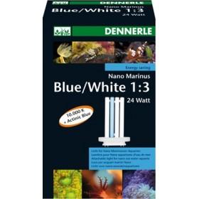 tube fluo compact pour Nano marinus White/blue 24 Watts