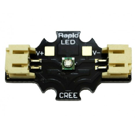 Solderless CREE XP-E Green