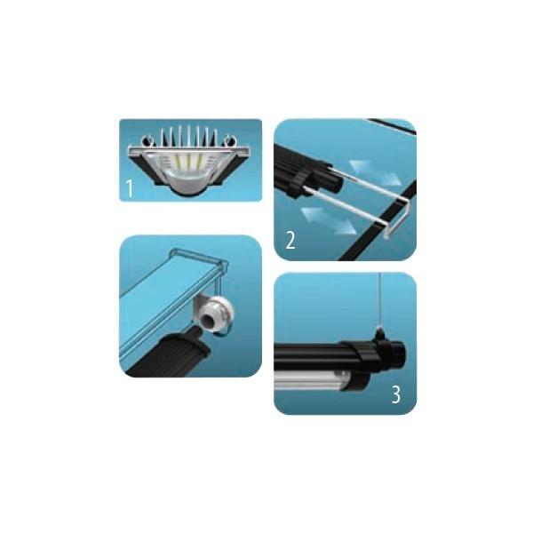 rampe led aquatlantis easyled 1047mm. Black Bedroom Furniture Sets. Home Design Ideas