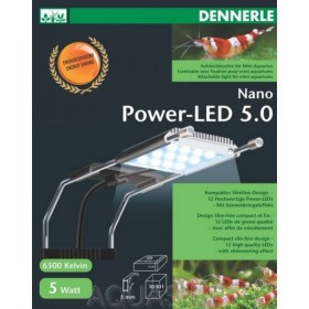 Rampe LED DENNERLE POWER-LED 5.0 NANO pour aquariums de 10 à 30 litres
