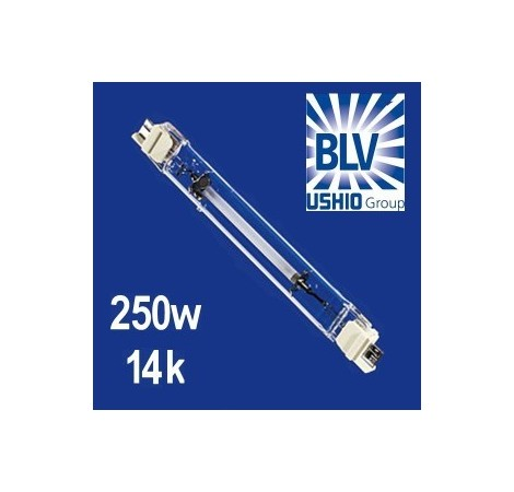 BLV Nepturion Ampoule HQI 250 Watts 14000K° - Culot FC2