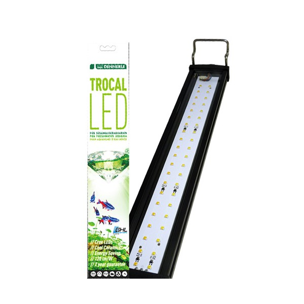 dennerle trocal led 5500 k 38 cm rampe led pour aquarium. Black Bedroom Furniture Sets. Home Design Ideas