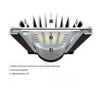 AQUATLANTIS Rampe LED EasyLED Universal 2.0 Marine & Reef - 25000K - 742mm