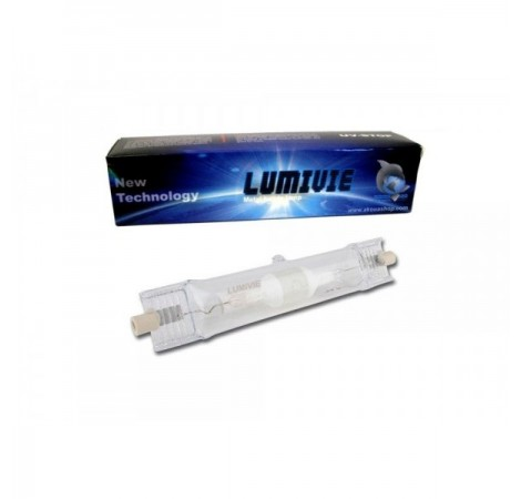 LUMIVIE Ampoule HQI 150 Watts 10000K° - Culot RX7s
