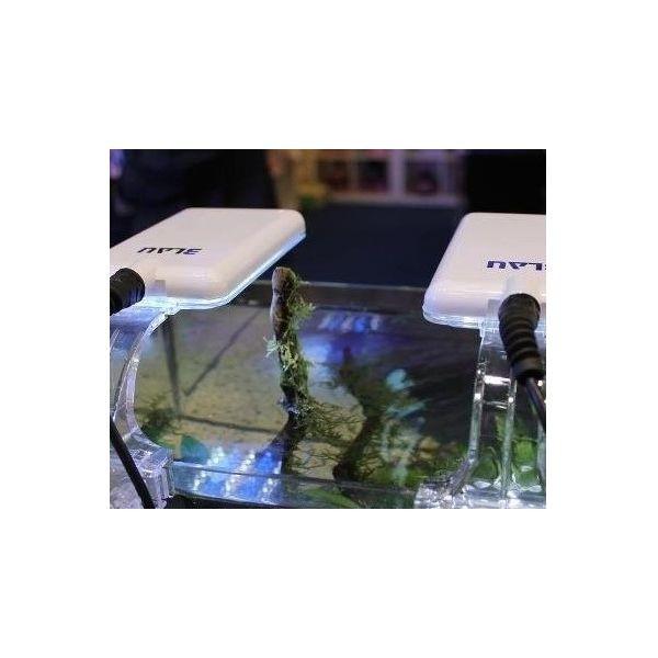 Blau nano led light 11 watts eau douce noire aqualight for Nano aquarium eau douce