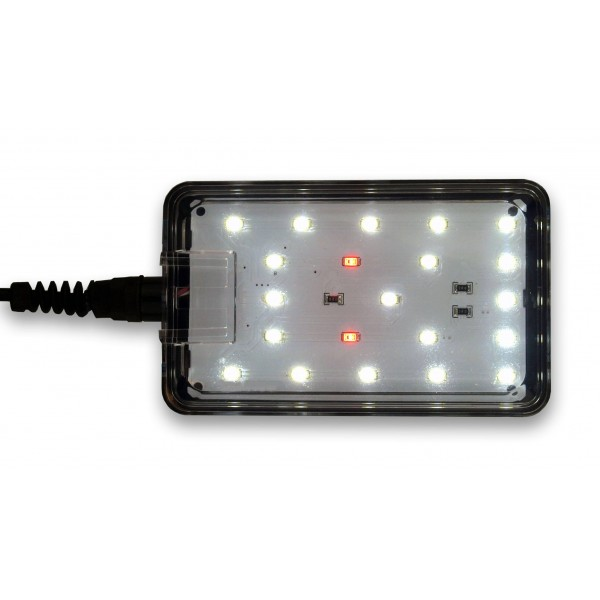 blau nano led light 9 watts eau douce blanche. Black Bedroom Furniture Sets. Home Design Ideas