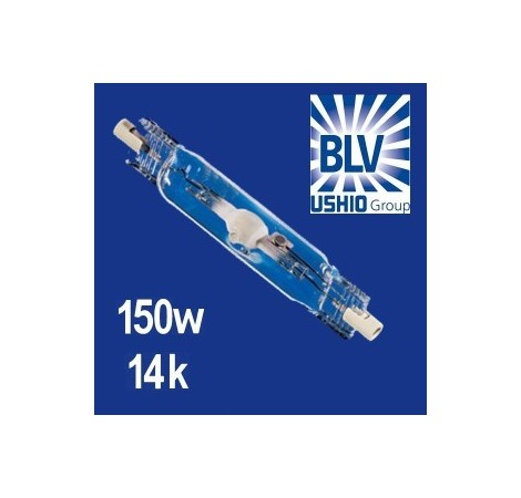 BLV Nepturion Ampoule HQI 150 Watts 14000K° - Culot RX7s