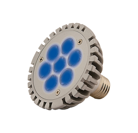 SOLDES - AQUA MEDIC Aquasunspot 7x1 Watts Bleu - 25000K°