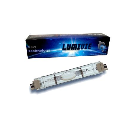 LUMIVIE Ampoule HQI 250 Watts 14000K° - Culot FC2