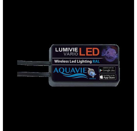 LUMIVIE Contrôleur Bluetooth Vario LED - 2 Rampes