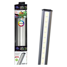 LUMIVIE RAL G2 21 Watts RGB Rampe LED Eau Douce - 80cm