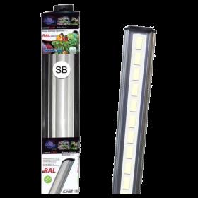 LUMIVIE RAL G2 20 Watts LEDs blanches Rampe pour Eau Douce et Eau de Mer - 60cm