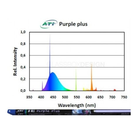 ATI Tube T5 Purple+ 24 Watts - 550mm