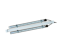 DESTOCKAGE - AQUALIGHT Reglette 2x tubes LED Blanc/Bleu - 2x15 Watts