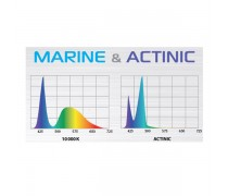 AQUAEL LEDDY SLIM DUO marine & actinic - 10 Watts