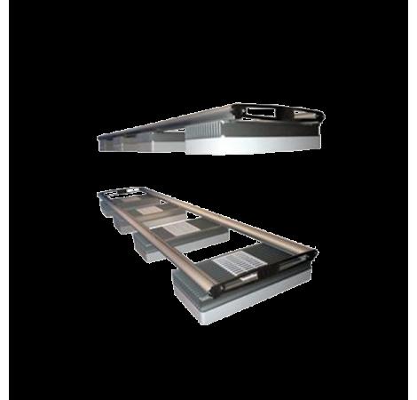 D-D AQUARIUM SOLUTION Rails double pour rampes AI Hydra 26 - 122 cm