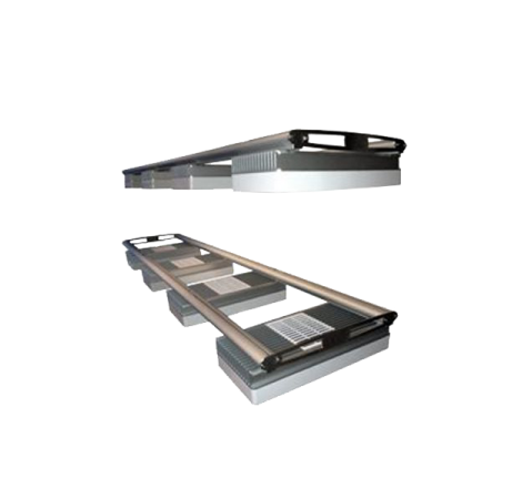 D-D AQUARIUM SOLUTION Rails double pour rampes AI Hydra 26 - 152,5 cm
