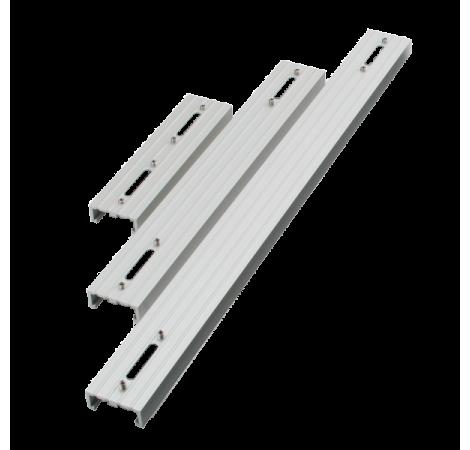 AQUA ILLUMINATION EXT Rail simple pour rampe LED Hydra 26 et 52 Silver - 30,5 cm