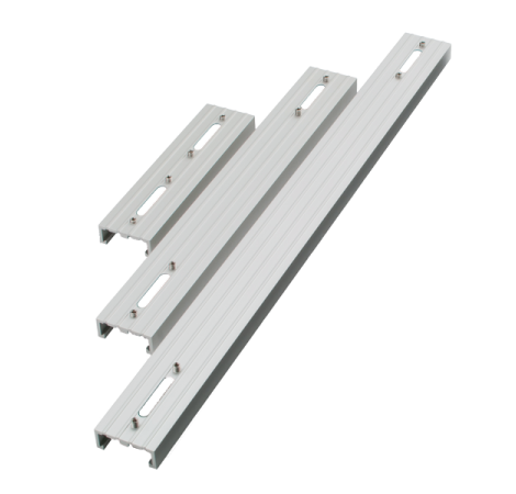AQUA ILLUMINATION EXT Rail simple pour rampe LED Hydra 26 et 52 Silver - 45,7 cm