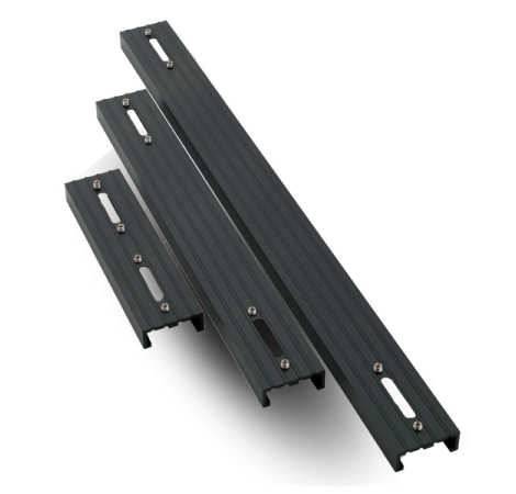 aqua illumination rail simple pour rampe led hydra 26 et 52 noir 45 7 cm. Black Bedroom Furniture Sets. Home Design Ideas