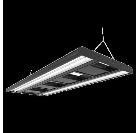 GIESEMANN Rampe Hybride T5-LED Stellar 600 mm Irridium Metallic - 4x24 Watts