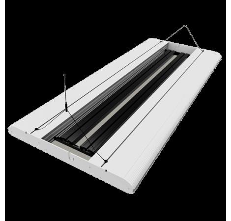 GIESEMANN Rampe Hybride T5-LED Stellar 1200 mm Polar White - 4x54 Watts