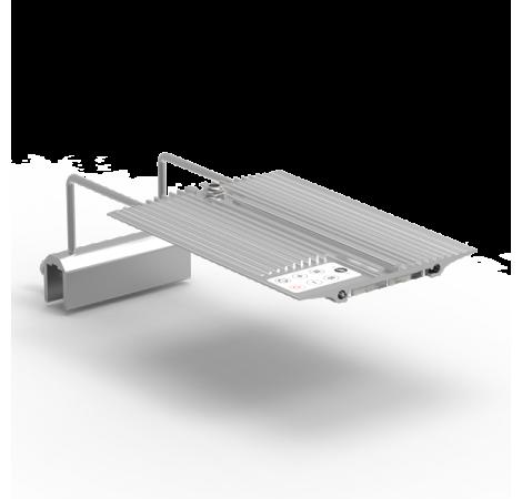 NEMOLIGHT II Rampe LED pour Nano Aquarium Eau de Mer - 24 Watts - Argent