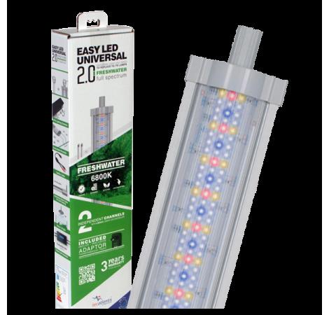 AQUATLANTIS Rampe LED EasyLED Universal 2.0 Eau Douce - 6800K - 549mm