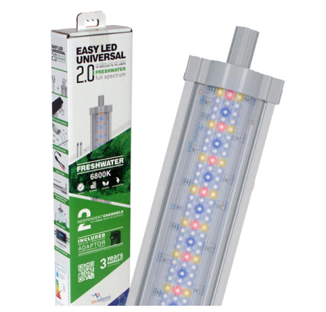 AQUATLANTIS Rampe LED EasyLED Universal 2.0 Eau Douce - 6800K - 1149mm