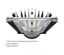 AQUATLANTIS Rampe LED EasyLED Universal 2.0 - 6800K - 742mm