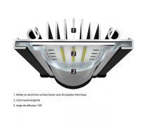 AQUATLANTIS Rampe LED EasyLED Universal 2.0 - 6800K - 742mm