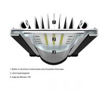 AQUATLANTIS Rampe LED EasyLED Universal 2.0 Marine & Reef - 25000K - 438mm