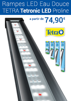 Tetra tetronic led rampe led pour aquarium eau douce