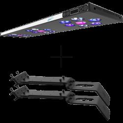ASAQUA Rampe LED MAX 90 + 2 Supports Bananaquarium