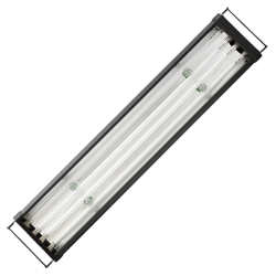 AQUALIGHT Rampe T5 Eau Douce 4x80 Watts - 150cm