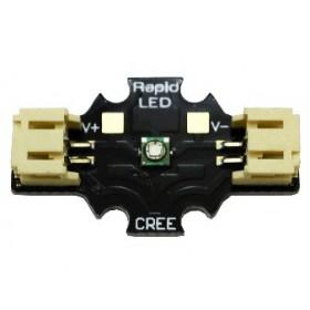 Solderless CREE XT-E Royal Blue LED 3 watts