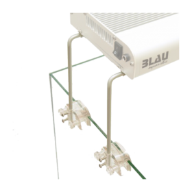 BLAU Supports de cuve pour rampes Lumina LED, T5 ou HQI