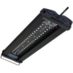 AQUALIGHT Rampe LED Edge Wi-Fi pour aquarium d'eau douce - 36 Watts - 60 cm