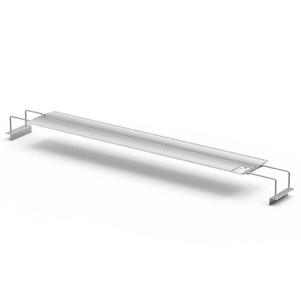NEMOLIGHT II Rampe LED pour Aquarium Eau Douce - 96 Watts - Argent