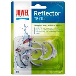 JUWEL Clips T8 pour réflecteurs Hiflex - x4
