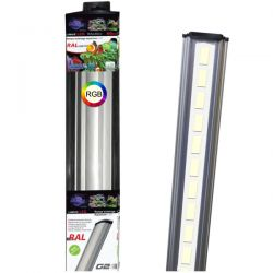 LUMIVIE RAL G2 RGB 9W 50 cm - Rampe LED pour aquarium d'eau douce