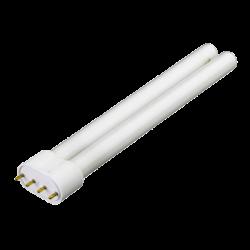 BLAU Tube Fluo Compact 18 Watts Blanc/Rose - Culot 2G11